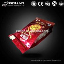 Bolso de empaquetado plástico del alimento del mejor precio