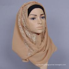 Hangzhou Personalized chiffon plain hijab Muslim Hijab Scarf instant hijab for ladies
