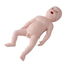Неонатальная новорожденная младенческая эндотрахеальная интубация Медицинская модель обучения навыкам