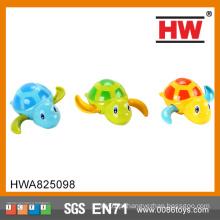 12cm plástico cartoon animal 6pcs / box vento até natação tartaruga brinquedo