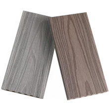 New Co-Extrusion WPC Decking Water-Proof WPC Engineered Flooring Boards Anti-Scratch Outdoor Composite Wood Decking