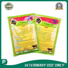 Ветеринарные препараты растворяемого порошка окситетрациклина гидрохлорида (20%)