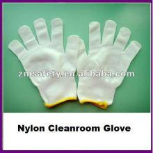 Lint Free Nylon Seamless Knit Cleanroom Glove