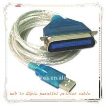 Adaptateur de câble usb to parallel cable Adaptateur de câble