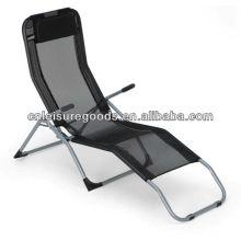 Cheap metal beach lounger chair