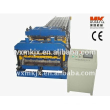 Steel Colored Glazed Roof panel Roll Forming Machine