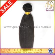 Heiße Muster Großhandel 5a billige 100 % Remy Jungfrau indischen Haarmasse