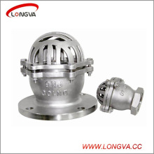 Soupape sanitaire à bride à basse pression en acier inoxydable 304