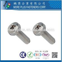 Fabriqué en Taiwan PH Pan Head Diameter 1.5mm Vis à taraudage plaqué zingué
