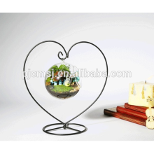 Сердце Ваза Форма С Висит Стекло Ваза Для Свадьбы