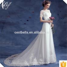 Fábrica Vende barato sereia trompete vestidos de noiva com trem Robe de Mariee Sirene TS583