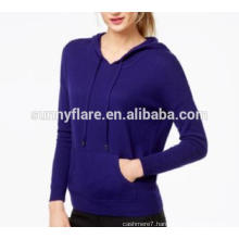 High Quality Women Pure Cashmere Coat Sweater