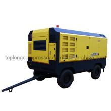 Compresseur d'air rotatif à vis rotatif mobile à moteur diesel (TDS-33/35 35 Bar)