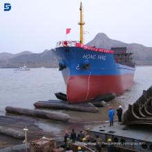 Équipement marin populaire du monde Chine Lancement et levage d'airbag de bateau de la Chine