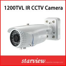 1200tvl IR imperméable à l'eau CCTV bullet caméra de sécurité (W21)