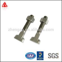 Kundenspezifischer Edelstahl 50mm Durchmesser Stahlbolzen