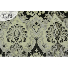 2016 Newest Black Jacquard Chenille Fabric Design by China Manufactory