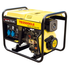 3 kVA Portable Diesel Generator / Single Phase Portable Generator (TD3500CLE)