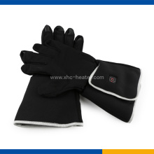 Electric rechargeable battery warm heated gloves