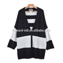 2014-2015 haute couture femmes col v manches longues cardigan