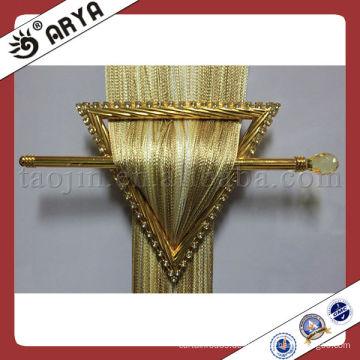Goldenes Dreieck eingebettete Bohrvorhang Schnallen, Vorhang Clips