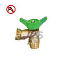 Free lead brass Boiler Drain with MIP Thread and Hose Thread
