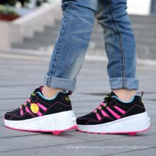 Мода имя бренда фабрика обувь коньках для детей, мужчины роликовые коньки обувь для взрослых, спортивные роликовые туфли с выдвижными колесами