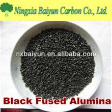 Areia de óxido de alumínio marrom de 80 mesh para polimento de vidro