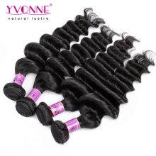 Top Qualité Virgin Remy Péruvienne Cheveux Humains