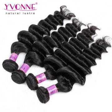 Wholesale Human Hair Peruvian Virgin Hair Weave