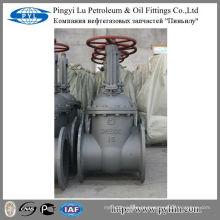 Água, óleo, tubo de gás usado gost aço carbono válvula de porta pn16