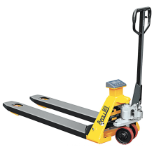 Xilin 2ton 2000kg capacity manual pallet jak scale pallet truck with printer