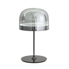 High quality Modern indoor decorative table top led glass bedside table light