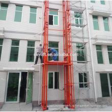 Электрический гидравлический фиксированной лифт грузовой склад