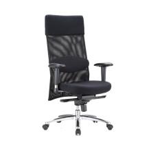 Modern Luxury High Back Boss Director Mesh Swivel Computer Office Chair with Padding Headrest