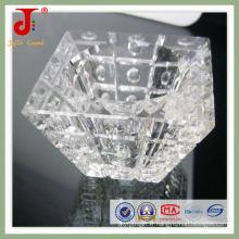 Accessoires de lanternes en cristal sculpté (JD-LA-213)