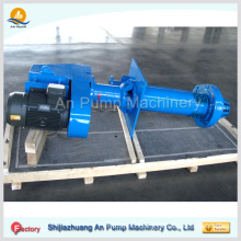 Vertical type electric rubber slurry pump