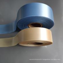 Double side woven edge satin ribbon for garment label