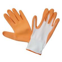 Nylon Gloves Coated Foam Latex Gardening Work Glove