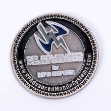 Moneda personalizada 3D Challenge para souvenir