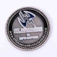 Custom 3D Metal Challenge Coin for Souvenir