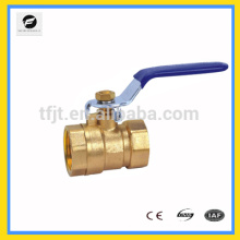 CWX-series 2pcs Brass ball valve,cw617n brass ball valve, Nickel plated ball valve