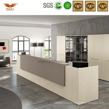 Customized Reception Table MDF Office Table Front Desk (HY-Q20)