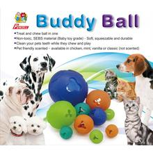 Juguete dispensador de golosinas duraderas Percell Large Buddy Ball