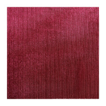 HIgh quality 95% polyester 5% elastane spandex knitted elastic polyester Corduroy fabric for women dresses