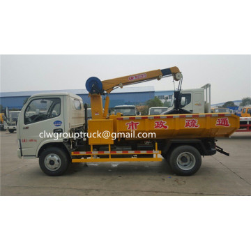 Dongfeng 5T 6 wheels Dredging Vehicle