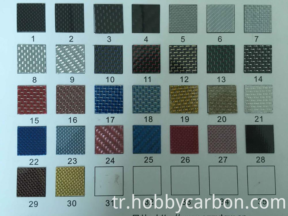 colorful fiber carbon plates frame