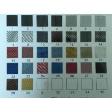 Marco colorido de la placa de la fibra de carbono del deporte F