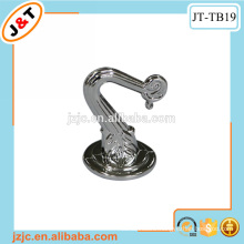 direct factory metal shower curtain track hooks