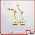Stainless steel gold earring wholesale manufacturer